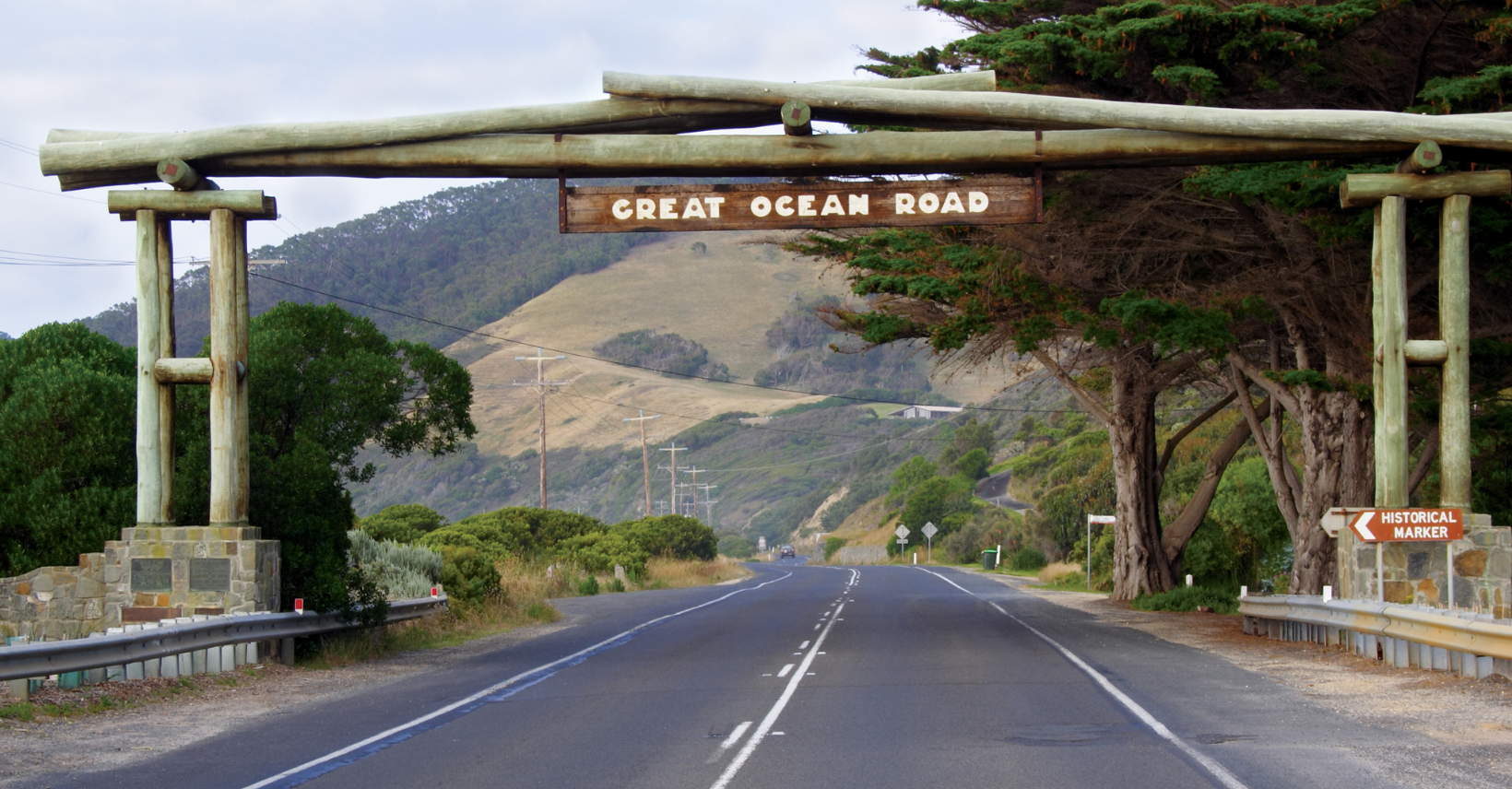 PERCORRENDO                      LA GREAT OCEAN ROAD
